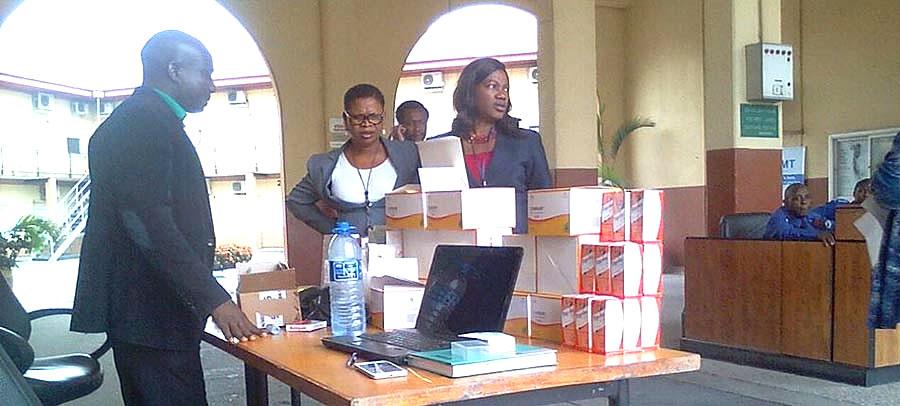 "Reals celebrating ""World Malaria Day"" @ Shell Lagos, Bonny, Port harcourt and Abuja on Monday 25th of April."