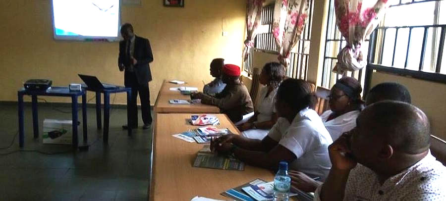 Clinical Meeting on REALFLEX @ St Mary's Children and Community Hospital. Orlu, Imo State.