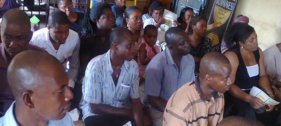 PMV Meeting at Enugu South.