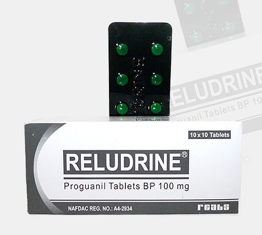 Reludrine Tablets
