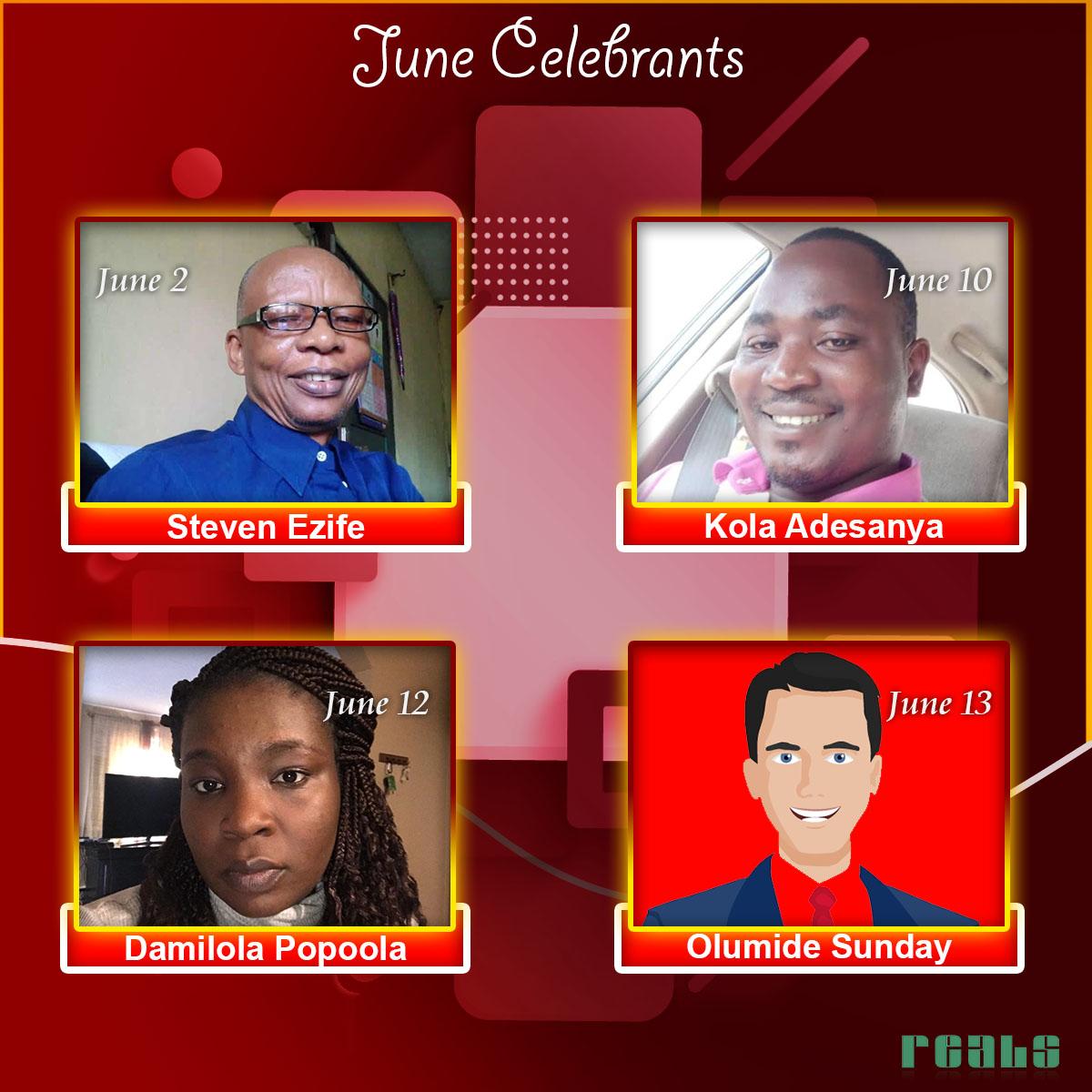 June Celebrants